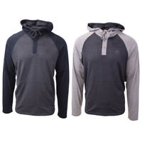 O'Neill Men's Lightweight Two Tone Henley Hoodie (Retail $50)