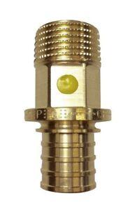 """8x Rehau BRASS STRAIGHT CONNECTOR No.3 Male - 16mmx1/2"""", 16mmx3/4"""" Or 20mmx 1/2"""""""