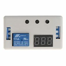LED Delay Timer Control Switch Relay Module Automation 12v Case