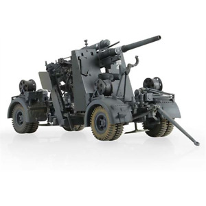 FORCES OF VALOR 801008A GERMAN 8.8CM 36/37 with Flak 38 + 5 figures 1942 1:32