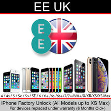 EE UK iPhone Factory Unlocking Service (For Replaced Devices/Over 6 Months Old)