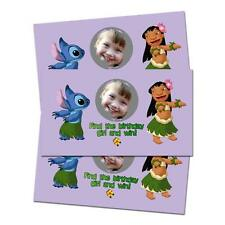 10 Lilo and Stitch Movie Birthday Party Favors Personalized Scratch Off Games