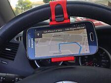 Supporto auto compatto universale da Volante Sterzo per Samsung Galaxy S3 i9300
