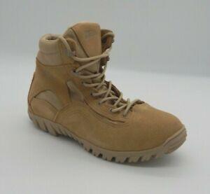 "Belleville 763 6"" Tan Waterproof Military Assault Boot SZ 9R New in Box"