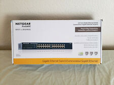 Netgear ProSafe Jgs524 V2 24-port Gigabit Ethernet Switch Rack Mount