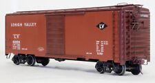 Kit Built 40 Ft. Boxcar - Lehigh Valley 62604  - O Scale, 2-Rail