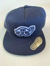 Vans New Tortuga Snapback Hat Dress Blues Youth Boy's OSFA