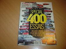 action auto N°336 Spécial 400 essais