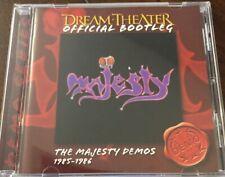 Dream Theater -  Majesty Demos - CD Genesis Rush Yes Rare Marillion