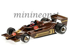 MINICHAMPS 100-790031 F1 LOTUS FORD 79 1979 1/18 HECTOR REBAQUE #31 BROWN