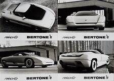 Bertone Nivola Concept Car Pack stampa con foto FEBBRAIO 1990 in tedesco