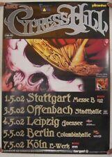 Cypress Hill Poster Stuttgart Berlin Koln Germany May 1-7 2002