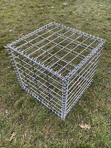 Gabion Basket / Cages Retaining Stone Garden Wall 40 x 40 x 40cm strong 4m wire