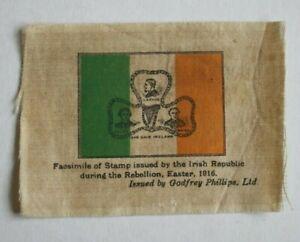 Irish Republican Stamp, Godfrey Phillips Silk 1925.