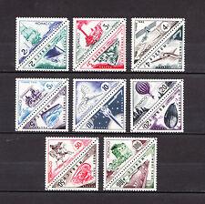 MONACO  timbre taxe  transports triangulaire  de 1953   num: 40/55   *