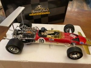 RARE 1/18 Exoto F1 Lotus Ford Type 49B Graham Hill #10 excellent condition