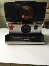 Polaroid SX-70 Land Camera Sonar OneStep As Is Untested