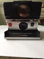 Polaroid SX-70 Land Camera Sonar OneStep As Is Untested