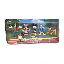 "Disney Junior Mickey Collectible Friends Set 2"" Figures Minnie Pluto Goofy New"
