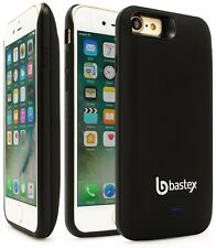 For iPhone 7 Plus Slim Fit Durable Black Rechargeable 5200mAh Battery Case Cover