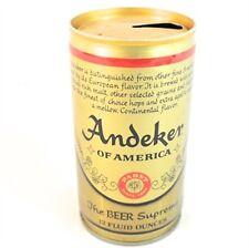 Vintage Gambrinus Gold Beer Pull Tab Beer Can