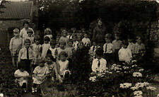 Pickering photo. School Group in Garden  by S. Smith, Photographer, Pickering.