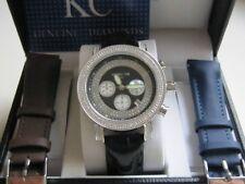 Techno Com by KC Watch with Diamonds