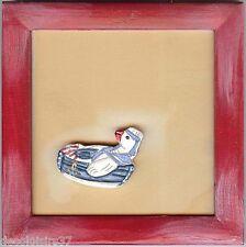 RICO DESIGN  07600  Cadre carré avec Motif Canard à coller