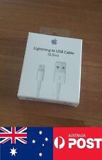 Genuine Original Apple Lightning to usb cable 0.5m ME291ZM/A - Brisbane Seller