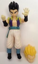 Dragonball Z/GT Figures-Gotenks-Super Saiyan Changing Heads-Rubber Clothes