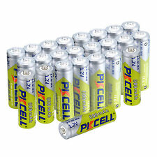 24PCS Ni-Mh AA 600mAh NiMH Rechargeable Battery For Garden Solar Lights PKCELL