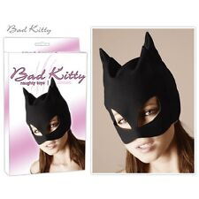 CAT MASK BAD KITTY Adult Costume Fun Party Naughty Hood Hat Fancy Dress QUALITY