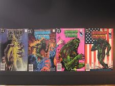 Swamp Thing Sophisticated Suspense,4 DC comics,#41 ,#42,#43,#44, 985-86, F+-VF