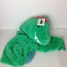 Pillowfort Green Dinosaur Blanket Hooded Blanket Dino Arms