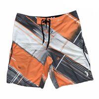 Hurley Phantom Boardshorts Men's Size 36 Stretch Swim Shorts Trunks