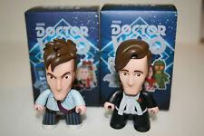 Doctor Who Titans Vinyl Figures 10th & 11th Dr. FanExpo David Tennant Matt Smith