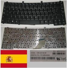 Tastiera Qwerty Spagnola Acer TM2200 NSK-AE10S PK13ZHN03K0 9J.N7082.C0S Nero