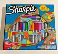 Sharpie Permanent Markers, Marker Set with 6 Bonus Activity Pages, 44 Piece Set