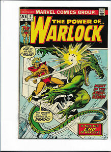 WARLOCK#8 FN 1973 MARVEL BRONZE AGE COMICS