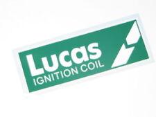 Classic Austin Rover Mini BL Cars Jaguar Triumph Lucas Ignition Coil Sticker