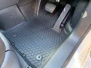 Genuine Volkswagen Caddy 4 2K Floor Mat Set - Rubber - Front 2007-2021