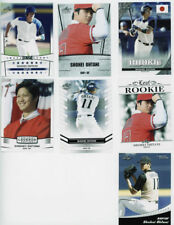 7 card lot  2018 Leaf SHOHEI OHTANI Rookie Set  All Ohtani RCs ANGELS DH & PIT.