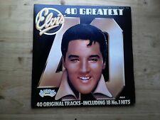 Elvis Presley 40 Greatest Excellent 2 x Vinyl Record ADEP12