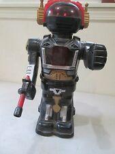 Space Robot Toy, Battery Powered, Date Maker unknown. 16.5 inches tall.