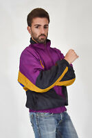 PUMA Rain Jacket Giubbotto Multicolore In Nylon e Cotone Cotton TG XXL Uomo Man