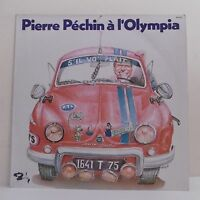 "33T Pierre PECHIN Disque LP 12"" OLYMPIA Dauphine Peugeot BARCLAY 90072 Rare"