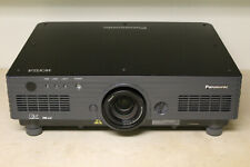 Low Hours Panasonic PT-DW5000UL WXGA HD DLP Theater Projector - 4500 Lumens!