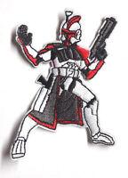 "Star Wars Clone Trooper Die-Cut Figure 4"" Patch-USA Mailed (SWPA-CD-29)"