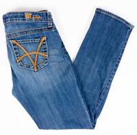 Kut From The Kloth Stevie Straight Leg Womens Jeans Medium Wash Size 6