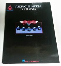 AEROSMITH ROCKS GUITAR TAB SONGBOOK TABLATURE MUSIC BOOK JOE PERRY